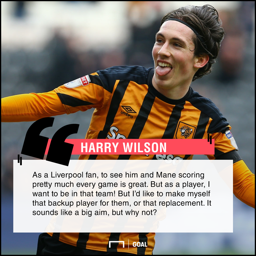 Harry Wilson on his Liverpool first team ambition