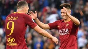 Dzeko El Shaarawy Roma Serie A