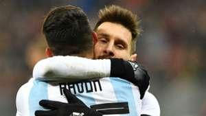 Pavon Messi Seleccion argentina Amistoso 9112017