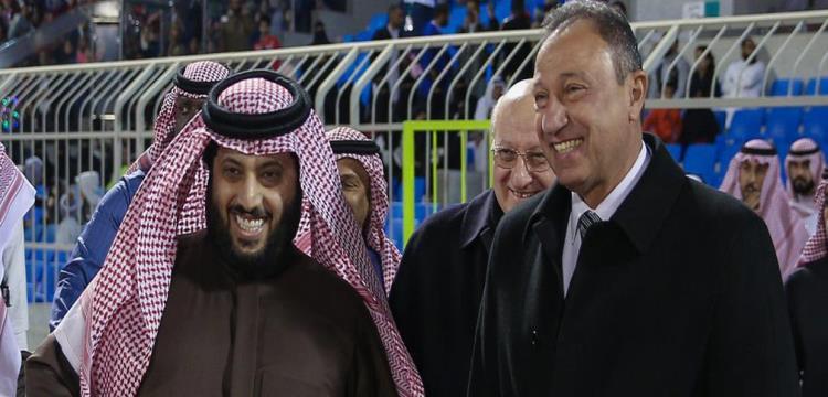 تركي آل شيخ - محمود الخطيب