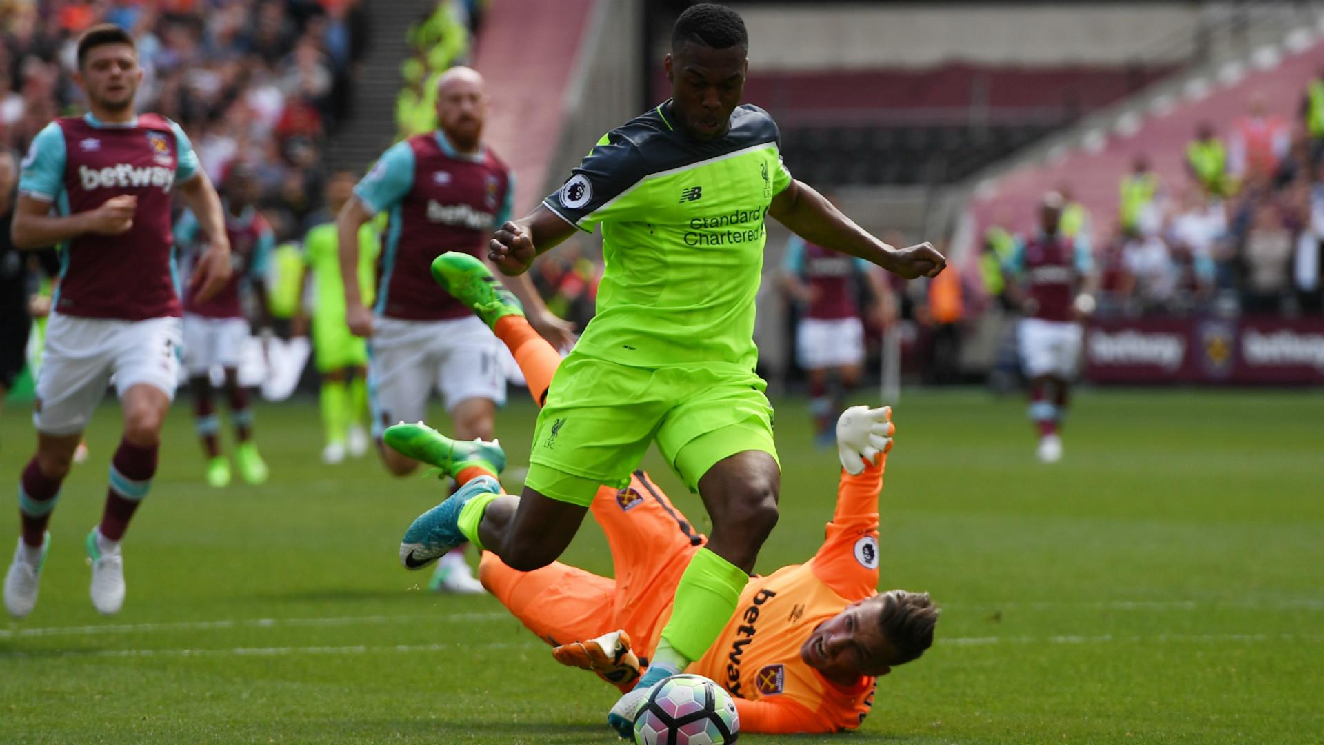 Daniel Sturridge West Ham Liverpool Premier League
