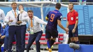 Louis Van Gaal Robin Van Persie Netherlands 2014