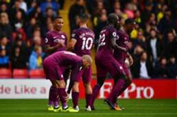 Sergio Aguero Watford Manchester City Premier League