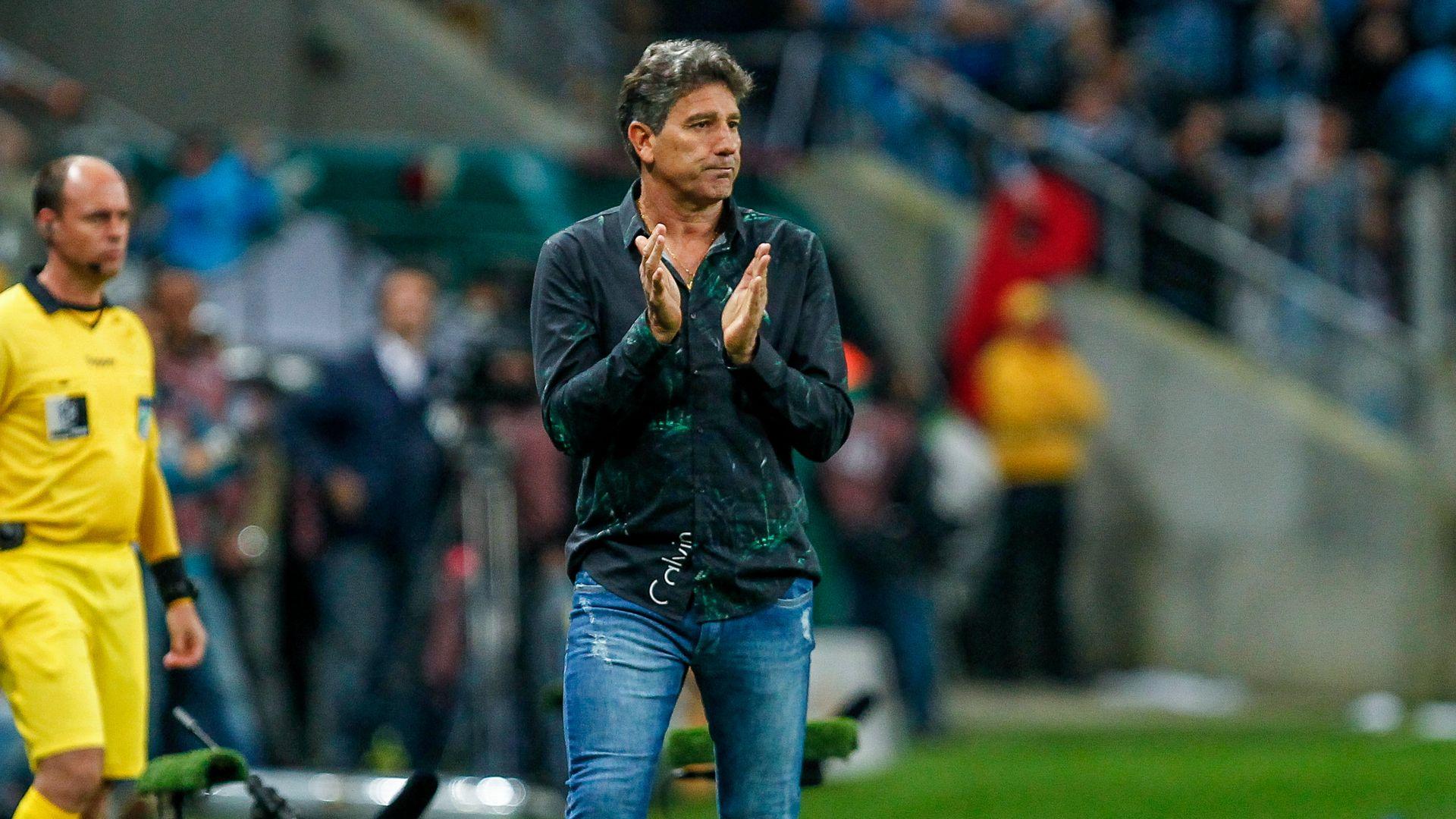 Renato Gaucho Gremio Cruzeiro Copa do Brasil 16082017