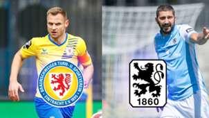 Eintracht Braunschweig TSV 1860 München TV LIVE-STREAM 3. Liga Magenta