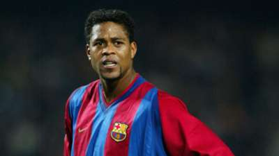 Kluivert Barcellona 2003