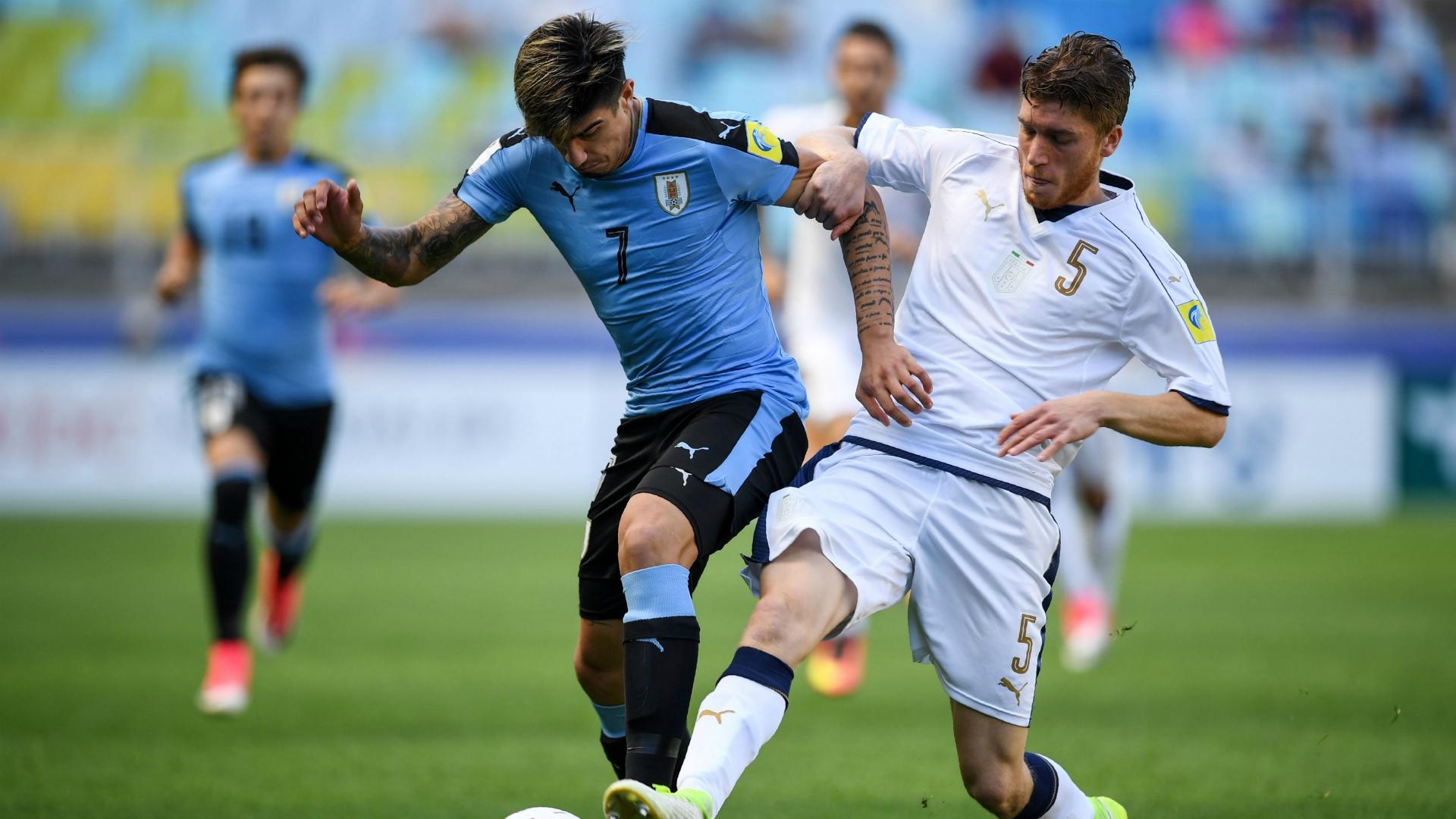 Joaquin Ardaiz Filippo Romagna Uruguay U20 Italy U20 U20 World Cup 06112017
