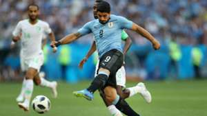 Luis Suarez Uruguay Arabia Saudita World Cup 20062018