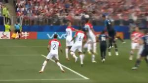 Mandzukic Croacia Francia Gol Captura