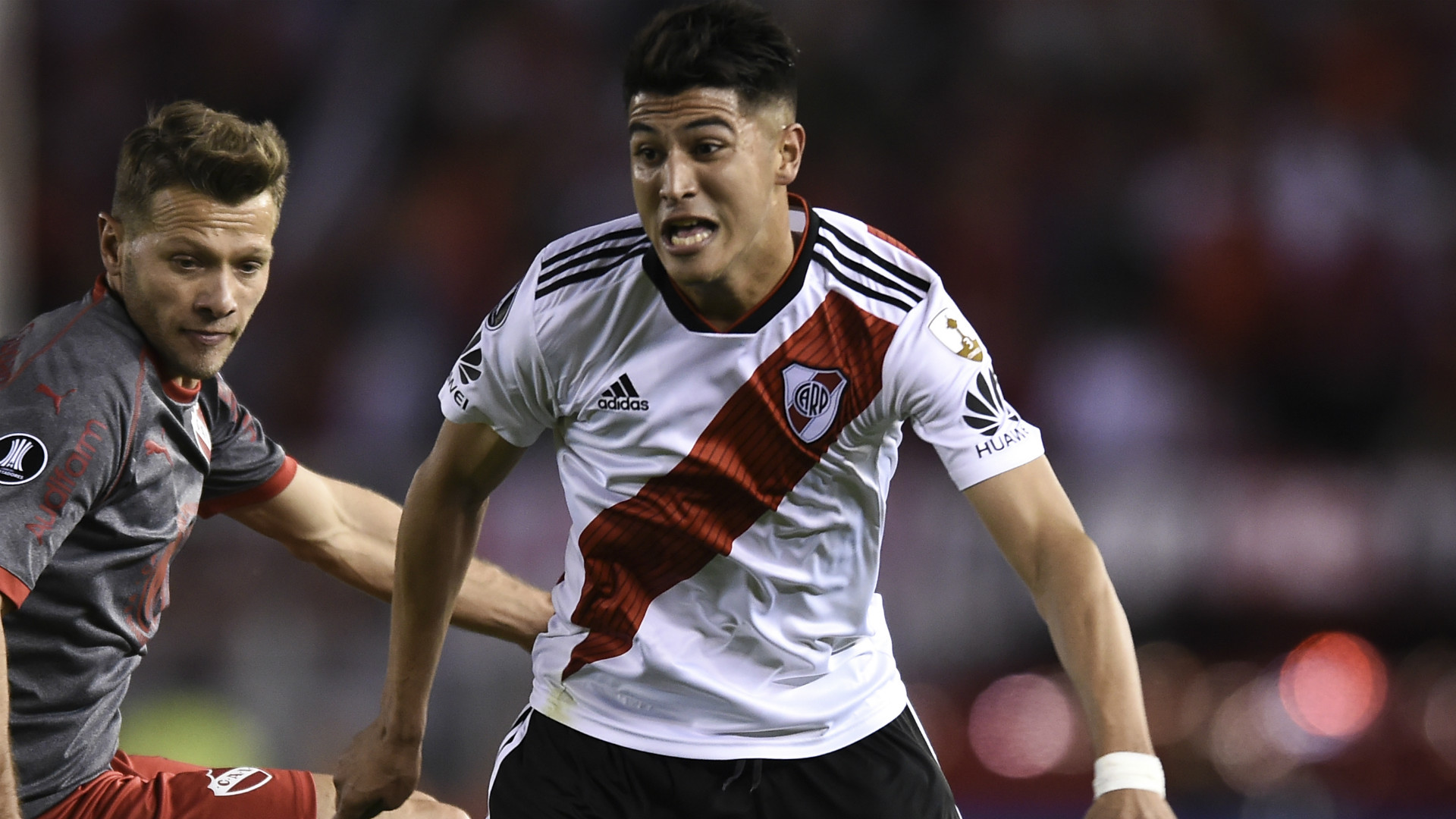 Image result for Who is Exequiel Palacios? Argentina's 'womanising' wonderkid wanted by Real Madrid