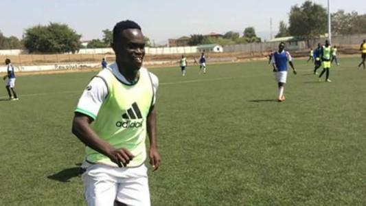 Western Stima newly signed defender Salim Hamisi