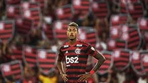 Bruno Henrique torcida Flamengo Penarol Libertadores 03042019