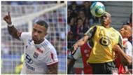 Memphis Depay (OL) et Victor Osimhen (LOSC), meilleurs buteurs de Ligue 1 après la 4ème journée de Ligue 1 2019-2020