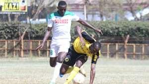 James Situma of Mathare United v Tusker.