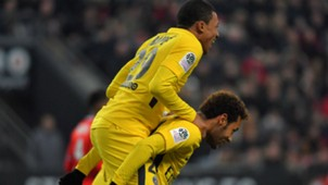 Neymar Mbappé Rennes PSG