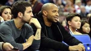 Cesc Fabregas Thierry Henry