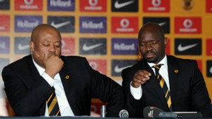 Bobby Motaung and Steve Komphela - Kaizer Chiefs