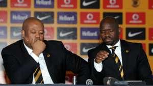 Bobby Motaung and Steve Komphela - Kaizer Chiefs
