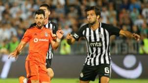 Partizan Besiktas 08232018 Tolgay Arslan