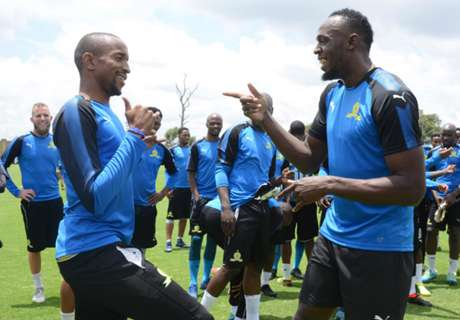 Brockie reveals what Bolt's like on the football pitch