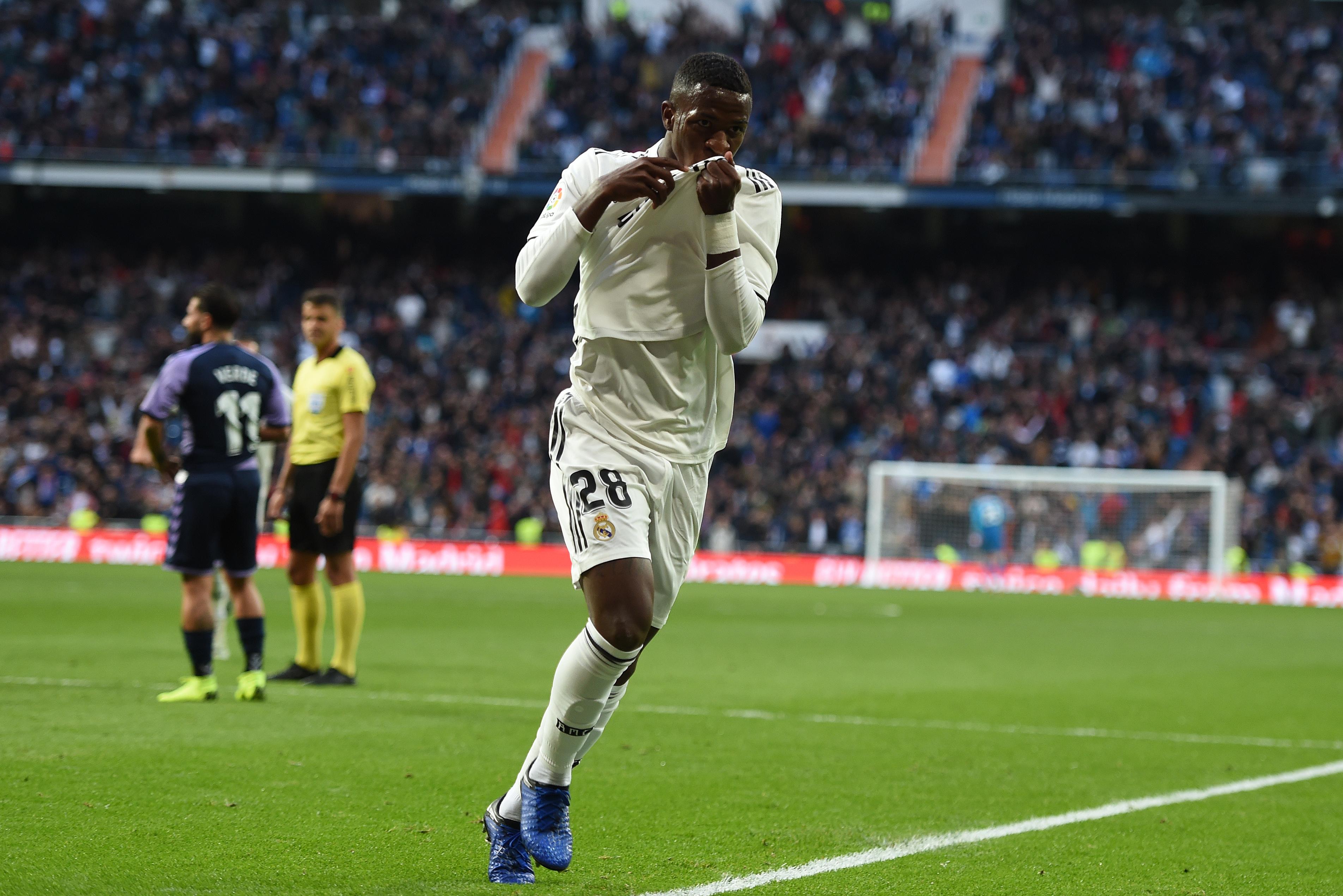 Vinicius Real Madrid Real Valladolid LaLiga