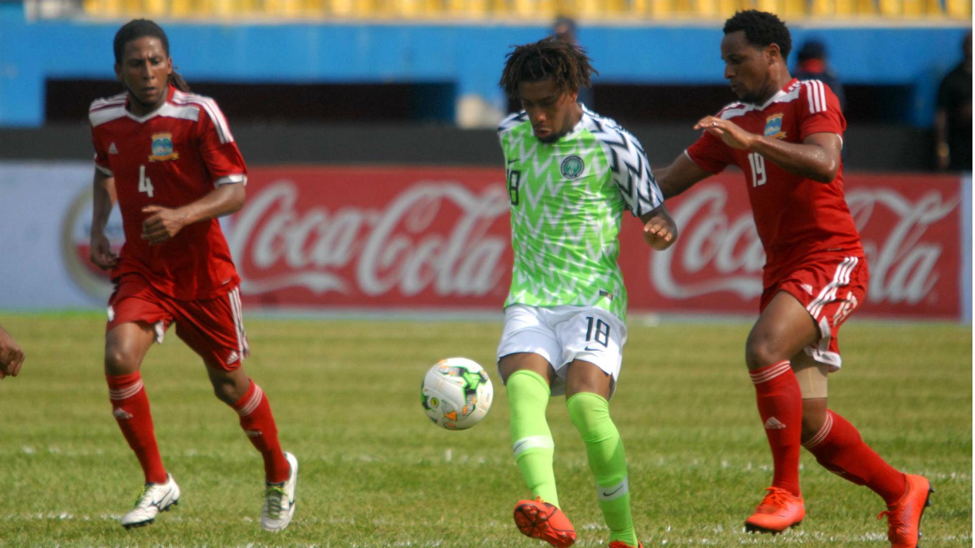 Alex Iwobi - Nigeria vs Seychelles