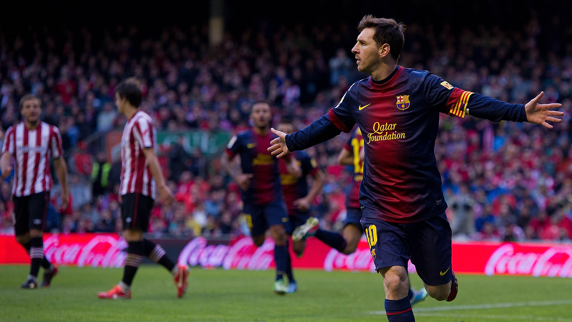 Le Barça facile, 400 buts pour Messi — Liga
