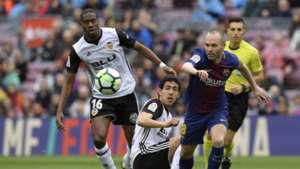 Andres Iniesta Barcelona Valencia