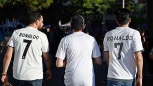 Real Madrid fans Cristiano Ronaldo 19082018