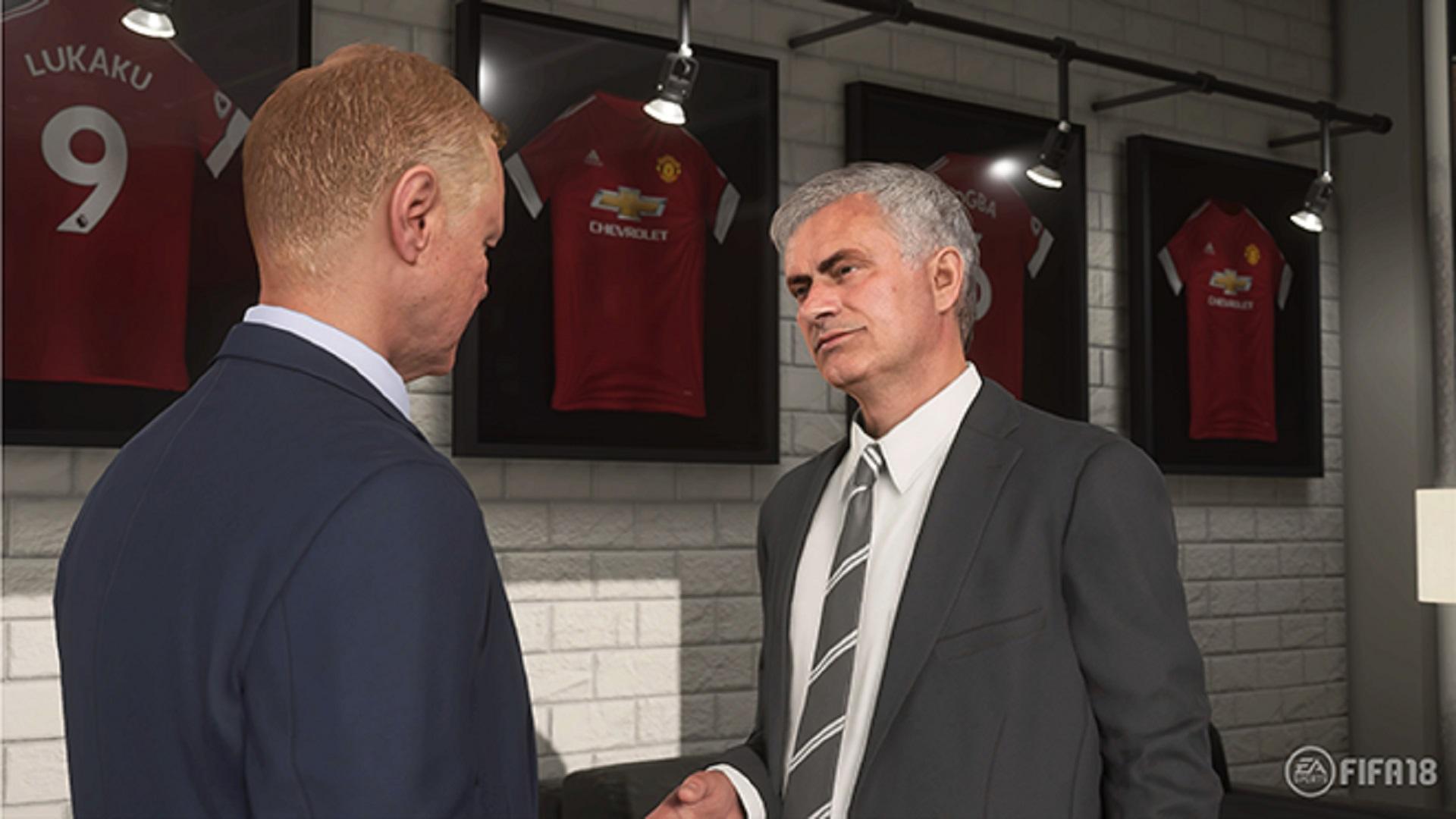 FIFA 18 Jose Mourinho