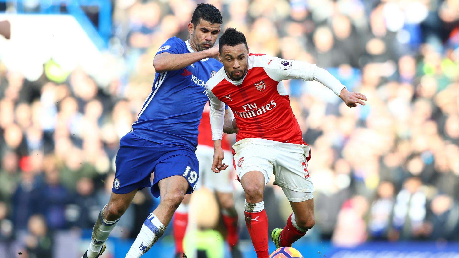 Francis Coquelin Chelsea Arsenal