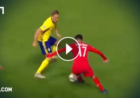 Gegen zwei Schweden! Ünder packt frechen Trick aus
