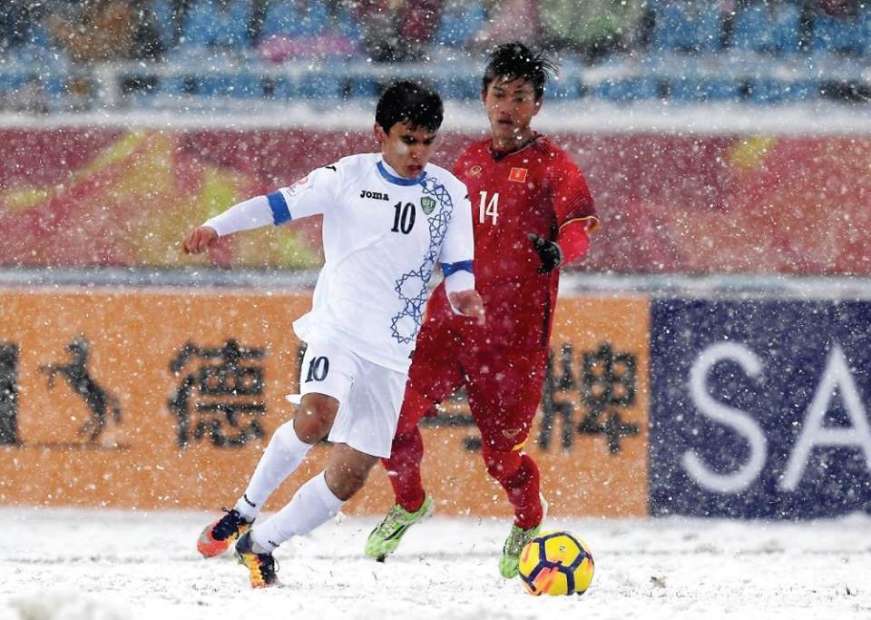U23 Việt Nam vs U23 Uzbekistan, Văn Đức