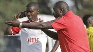 Robert Mtano instruct Onyango Boniface.
