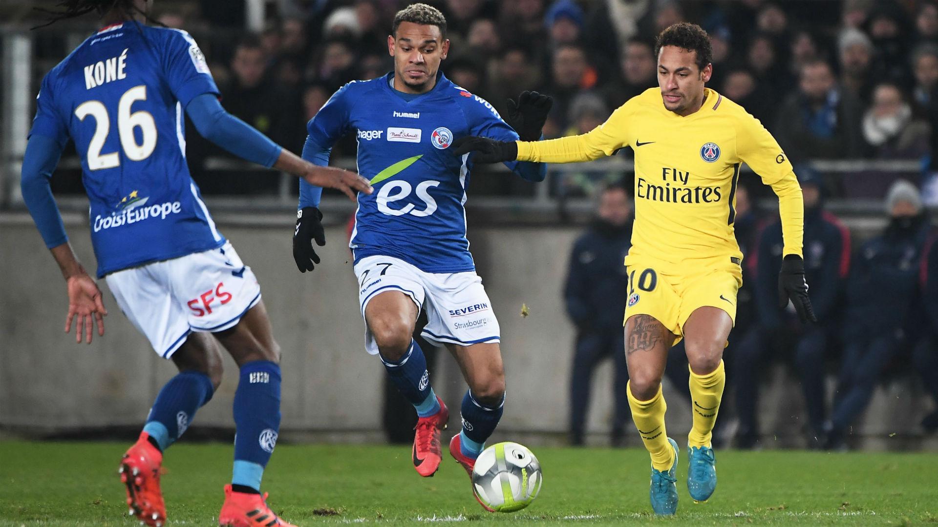 Neymar Strasbourg PSG Ligue 1 02122017