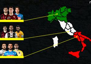 Se le regioni fossero squadre, come scenderebbero in campo? Quale undici avrebbero a disposizione? Ecco la nostra Top11 delle regioni, tenendo in considerazione come unica discriminante il luogo di nascita.