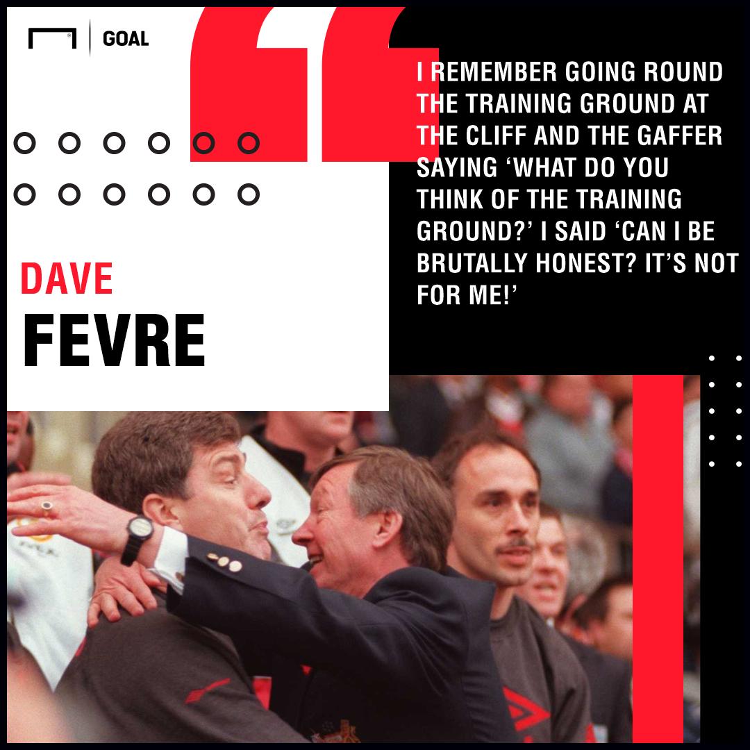 Dave Fevre Sir Alex Ferguson Manchester United