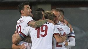 AC Milan celebrate