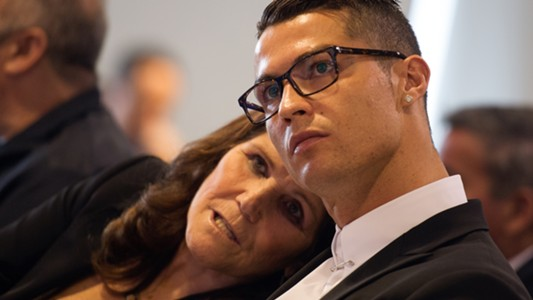 Cristiano Ronaldo mother Dolores Aveiro 2016