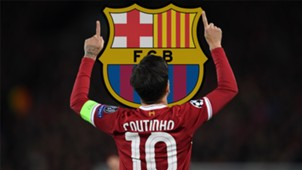 Philippe Coutinho Barcelona Crest