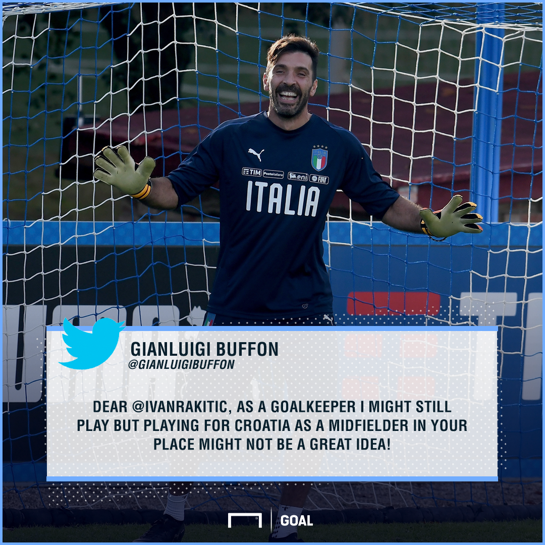 Gianluigi Buffon Responds To Ivan Rakitic's Tribute In Classy Fashion