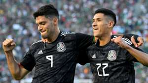 Raul Jimenez Uriel Antuna Mexico Cuba Gold Cup 2019