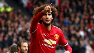 Marouane Fellaini Manchester United Crystal Palace Premier League
