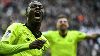 Nicolas Pepe Saint-Etienne Lille Ligue 1 10032019