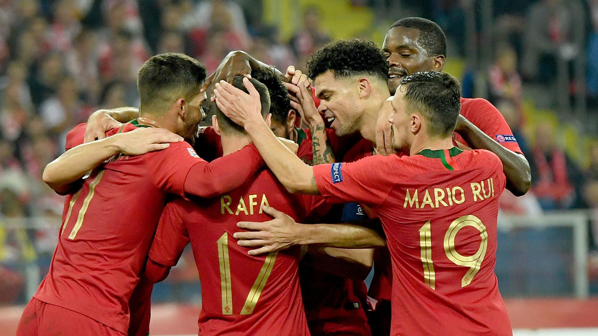Portugal celebrate 2018