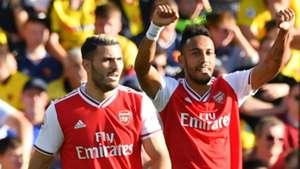 Arsenal set season landmark with brilliant Aubameyang goal against Watford