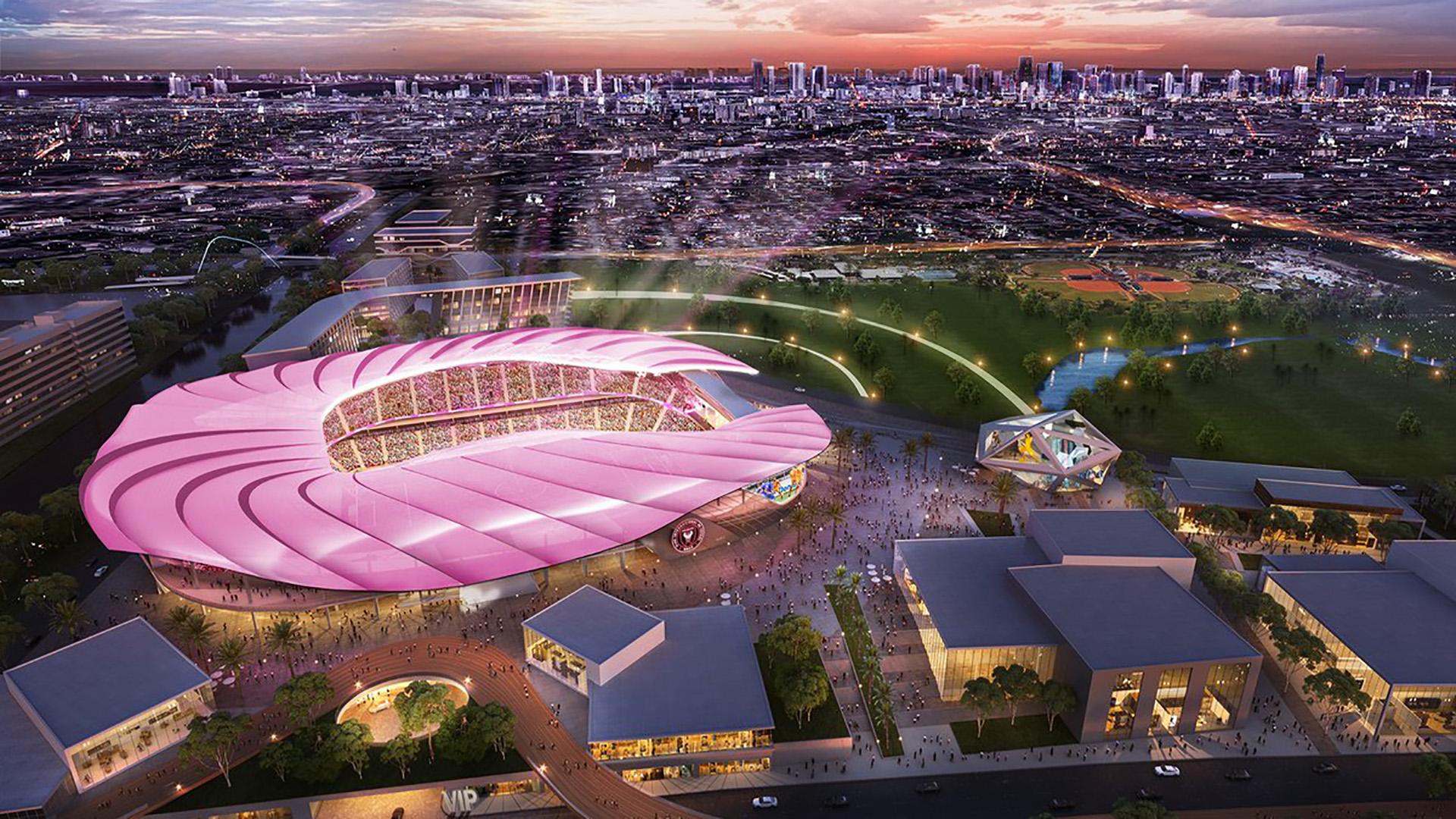 Inter Miami stadium concept