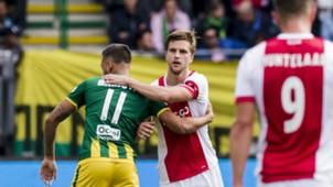 Joël Veltman, ADO Den Haag - Ajax, Eredivisie 09172017
