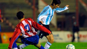 Lionel Messi Argentina Paraguay Amistoso Sub 20 29062004