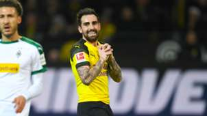 Paco Alcacer Borussia Dortmund Monchengladbach Bu